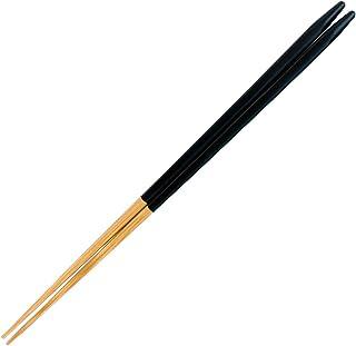 山下工芸(Yamasita craft) 日本製 細けずり角箸 黒