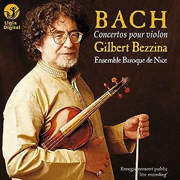 Bach : Concertos pour violon (Live)