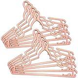 マルチクリップハンガー 8本組 ピンク