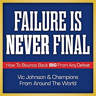 Failure Is Never Final audiobook cover art