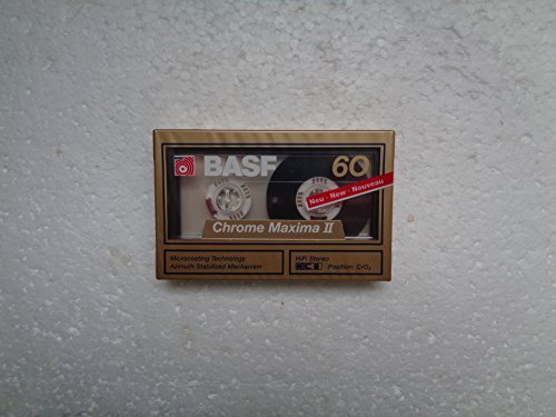 BASF Chrome Maxima II Audio Kassette 60 min