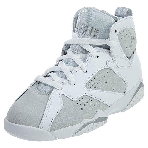 jordan Jordan , Jungen Basketballschuhe White/Metallic Silver /120