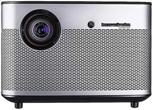 TIANYOU Projektor H2 Dlp 1350 Ansi Lumens Heimkinoprojektor Für Home Entertainment Große Kapazität und großer Bildschirm/Grau / 20.10 x 20.10 x 13.50 cm