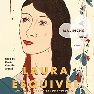 Malinche audiobook cover art