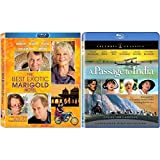 Best Exotic Marigold Hotel / Passage To India (2 Disc Blu Ray Set) - Starring: Tom Wilkinson, Bill Nighy, Peggy Ashcroft, Judy Davis, James Fox, Alec Guinness (Director: John Madden, David Lean)