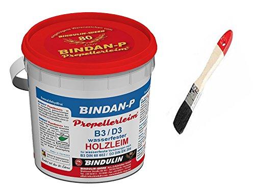 BINDAN-P Propellerleim® -das Original inklusive 1 Pinsel von E-Com24 zum Auftragen (350 gr.)