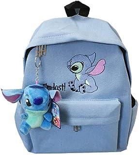 BACKPPSuper fire school bag college wind cartoon cute girl mochila mochila de lona para estudiantes