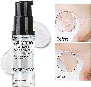 Hilai 1Bottle Foundation Primer de maquillaje Mattifying Pore Minimizing Primer Arrugas ocultas y líneas finas suaves Cont...