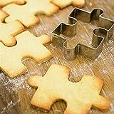 Stampi per biscotti, 5 pezzi, stampi per decorazione torte fai da te, in acciaio inox, per feste dei bambini, Silvery, Taglia libera