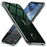 TesRank Nokia 2.2 Hülle, Transparent Silikon Weiche Handyhülle [Anti Slip] [Ultradünnen] Durchsichtige TPU Kratzfest Schutzhülle Case für Nokia 2.2-Klar