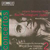 Brandenburg Concertos Vol. 2 by J.S. BACH (2001-07-24)