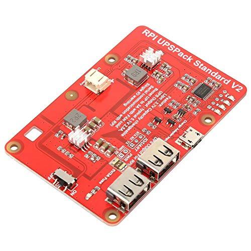 USV Lithiumbatterie Erweiterungskarte mit 4000mAh Lithiumbatterie für Raspberry Pi mit zwei Arbeitsmodi