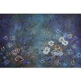 Fondos de decoración de fotografía de Fondo de Pintura de árbol floreciente Rosa de Mariposa de ensueño para Estudio fotográfico A2 9x6ft / 2,7x1,8 m