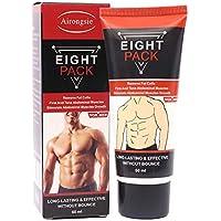 Crema abdominal, Hombres Mujeres Crema para músculos abdominales, Anti celulitis que adelgaza la crema quema grasa, reafirmante aumenta la fuerza muscular y quema grasa