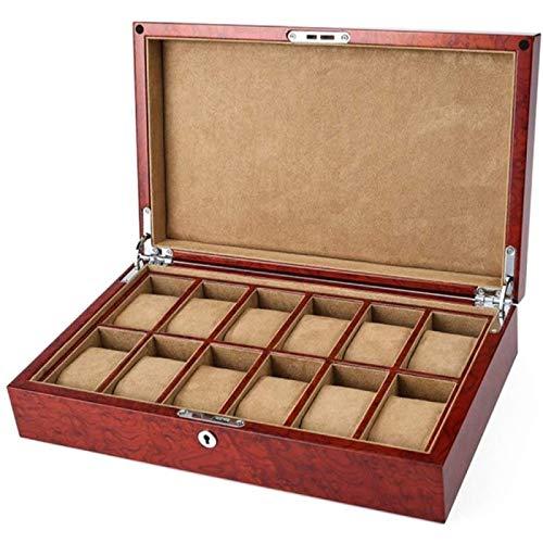 YIJIN Colección Memoria Recuerdo Recuerdos Joyas Caja de Regalo de Madera Cofre Vintage
