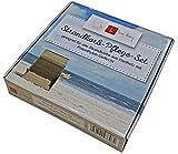 Mr. Deko Strandkorb Pflege- und Reinigungsset für Hartholz Strandkörbe - Politur - Holz - Teak - Mahagoni - Schmutz - Lebensdauer