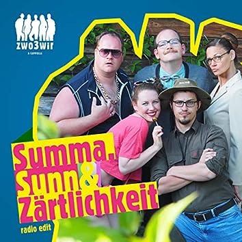 Summa, Sunn & Zärtlichkeit - radio edit