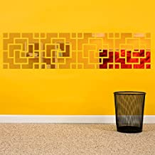 Incredible Gifts India Wall Sticker (Gold, 12 X 12 Inches)