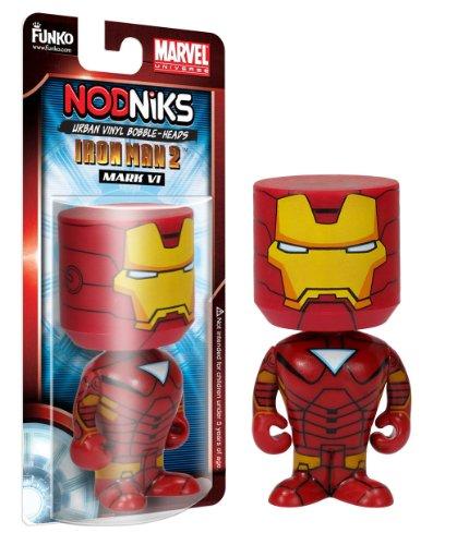 Iron Man Nodnik Wackelkopf-Figur Iron Man Mark VI 10 cm