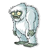 Plants vs. Zombies Wall Decals: Zombie Yeti (8.25 in x 12 in)