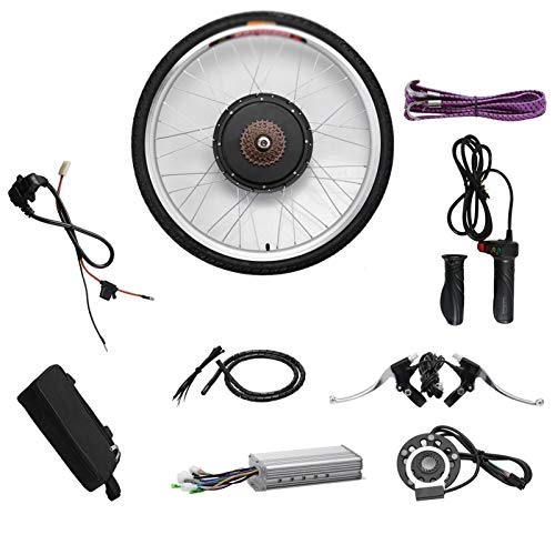 CRMY Kit de conversión de Bicicleta eléctrica fácil de Instalar, 48 V...