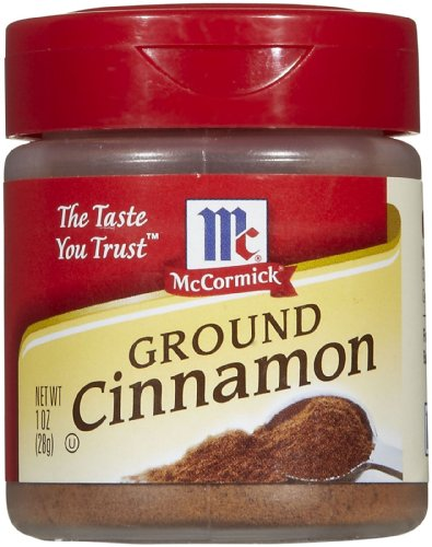 McCormick Ground Cinnamon, 1 oz, 6 pk