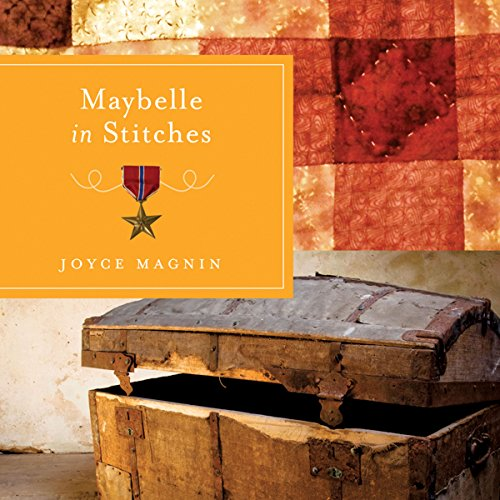 Maybelle in Stitches audiobook cover art