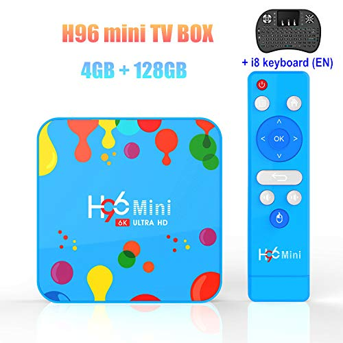 Purchase 4GB 128GB H96 Mini Android 9.0 TV Box Allwinner H6 Quad Core 6K H.265 WiFi BT4.0 HD Google ...