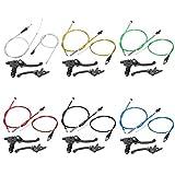 Yctze Cable de embrague l/ínea de enlace de cable de embrague de motocicleta para ATC200X XL125S XR200 XR200R CB125S