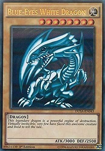 Carte Yu-Gi-Oh! - Saga dei Duellanti - Drago Bianco Occhi Blu DUSA-IT043