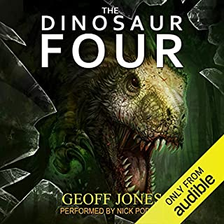 The Dinosaur Four audiobook cover art