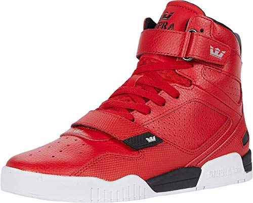 Supra Unisex-Erwachsene Breaker Hohe Sneaker, Rot (Red-Black/White 662), 44.5 EU