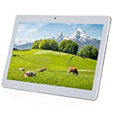 YELLYOUTH 10 inch Tablet Android 10.0 Deca Core 4GB RAM 64GB ROM with Sim Card Slot 4G LTE Phone Call Phablet with WiFi GPS Bluetooth and Dual Camera Silver