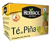 Herbacil Pineapple Tea. Natural and Refreshing. Mood Enhancer and Weight Loss Aid with Vitamin C. 1.76 Oz. 25 Bags