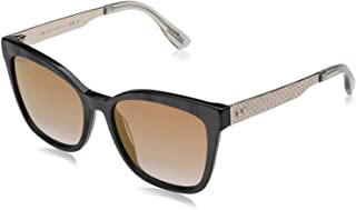 Jimmy Choo Square Sunglasses for Women - Brown Lens (Jimmy Choo Brown)
