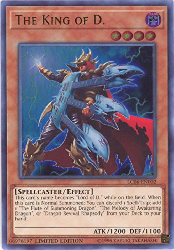 Yu-Gi-Oh! The King of D. - LC06-EN002 - Ultra Rare - Limited Edition - Legendary Collection Kaiba Mega Pack (Limited Edition)