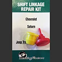 BushingFix HR1KIT1 -Jeep Transfer Case (4X4) and GM Transmission Shift Cable Bushing Repair Kit. Fits Select Vehicles See Listing for Details.