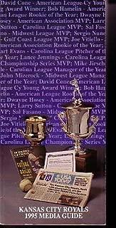 KANSAS CITY ROYALS MEDIA GUIDE 1995-MLB G/VG