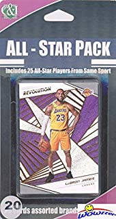 2018/2019 Panini REVOLUTION NBA Basketball EXCLUSIVE Factory Sealed SPECIAL EDITION 20 Card All-Star Set with Lebron James, Stephen Curry, Greak Freak, Kevin Durant, Donovan Mitchell & More! WOWZZER!