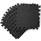 20 Tappetini Puzzle per Pavimento, 30x30cm - Morbido e Fermo Eva...