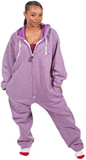 Forever Lazy Unisex Heavyweight Adult Onesie One-Piece Pajama Jumpsuit