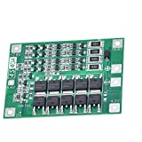 ZkeeShop 4S 40A 16.8V BMS Li-Ion Lithium Battery Protection Board 18650 Charger Protection Board with Balance Features (1 PCS)