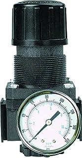 1//4 NPT 1//8 NPT 1//4 NPT 40 Degree F to 125 Degree F 14 SCFM 2 psi 1//8 NPT Midwest Control MCWRB3-25D Mini Relieving Regulator Gauge Ports 125 psi Pressure Range Brass Body