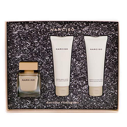 Narciso Rodriguez Narciso rodriguez poudrée femmewoman set eau de parfum 50 ml bodylotion 50 ml duschgel 50 ml