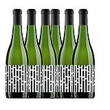 Adaras Lluvia Vino Blanco 100% Ecológico De Almansa - 6 Paquetes de 750 ml - Total: 4500 ml