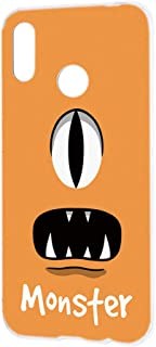 ケース ハードケース HUAWEI P20 lite (HWV32・ANE-LX2J) [モンスター・オレンジ] パロディ キャラクター ピートゥエンティライト スマホケース 携帯カバー [FFANY] monster-h152@04