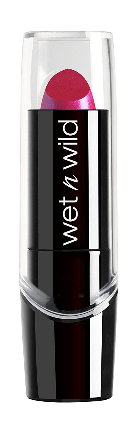 だますバス人気のWET N WILD New Silk Finish Lipstick Fuchsia w Blue Pearl (並行輸入品)