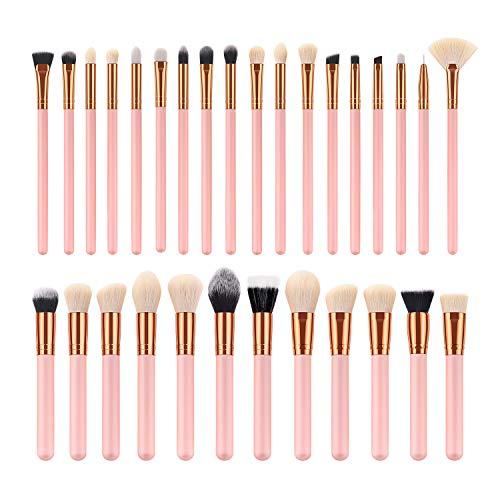 30 PièCes De Haute Qualité Balai Brosse Maquillage Maquillage Blush Eyeliner Eyeliner Pinceau à LèVres Maquillage Brosse Professionnel Beauté Kits CosméTiques