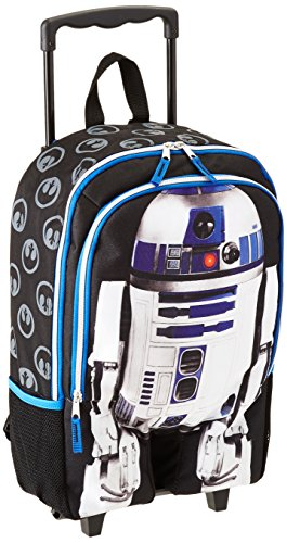 Star Wars Luggage R2d2 16' Rolling Backpack, Multi, One Size
