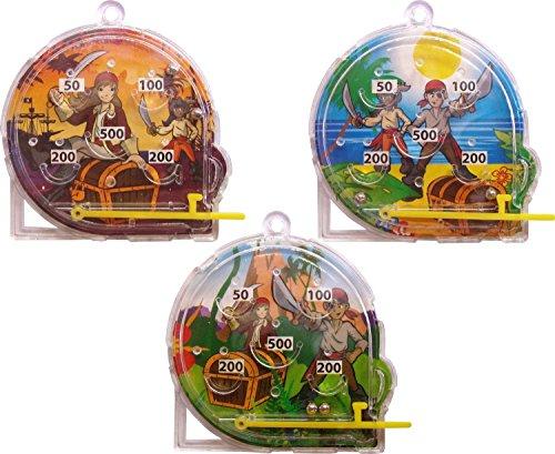 Pirate Pinball Mini (12 Fourni)